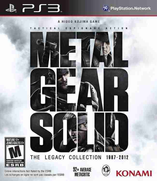 Descargar Metal Gear Solid The Legacy Collection [MULTI][Region Free][FW 4.3x][ANTiDOTE] por Torrent